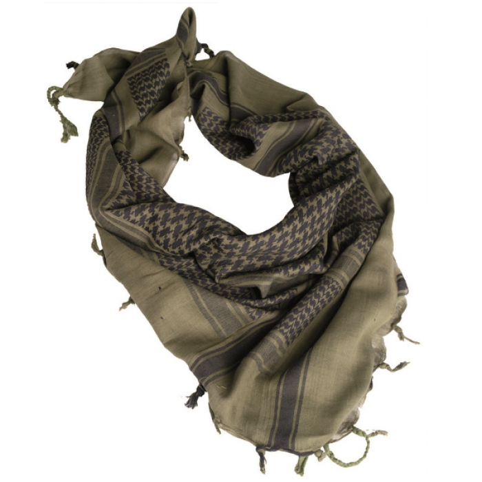 Buy Shemagh-arafat Mil-Tec olive with black