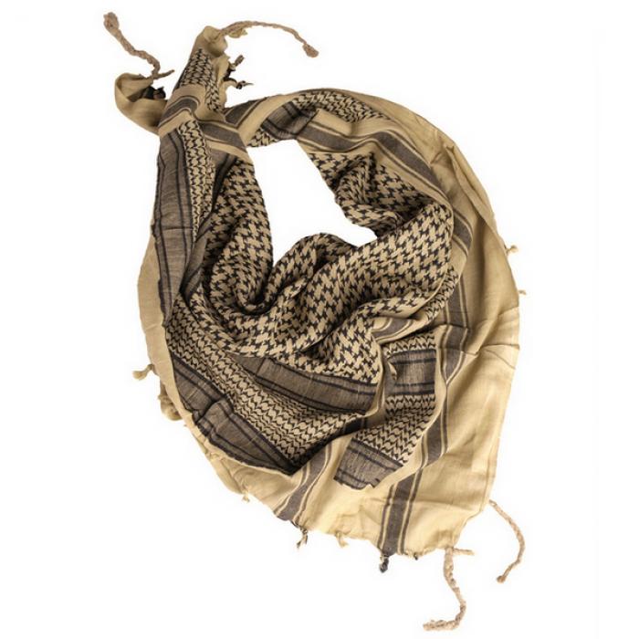 Buy Shemagh-arafat Mil-Tec khaki with black