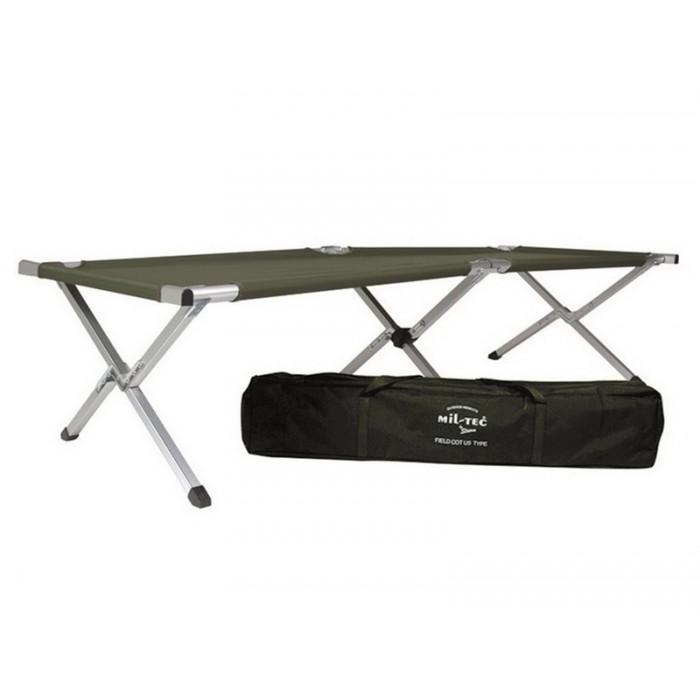 Купить Кровать раскладушка Mil-Tec US Style алюминиевая олива