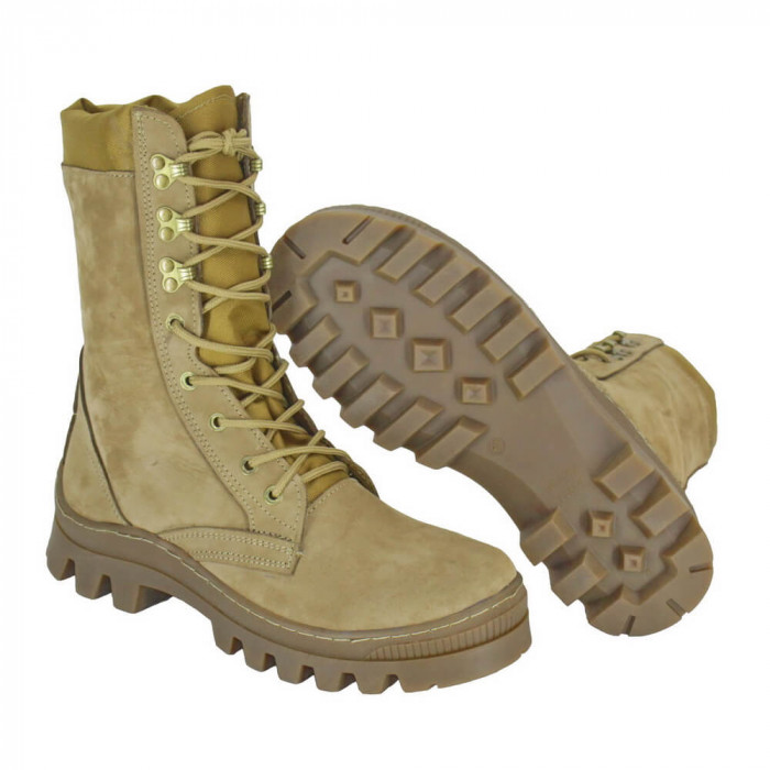 Buy Winter boots Cobra on a sheepskin fast lacing coyote