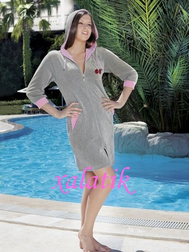 Жіночі халати велюрові бавовняні купити в Київ 145b748be67ea
