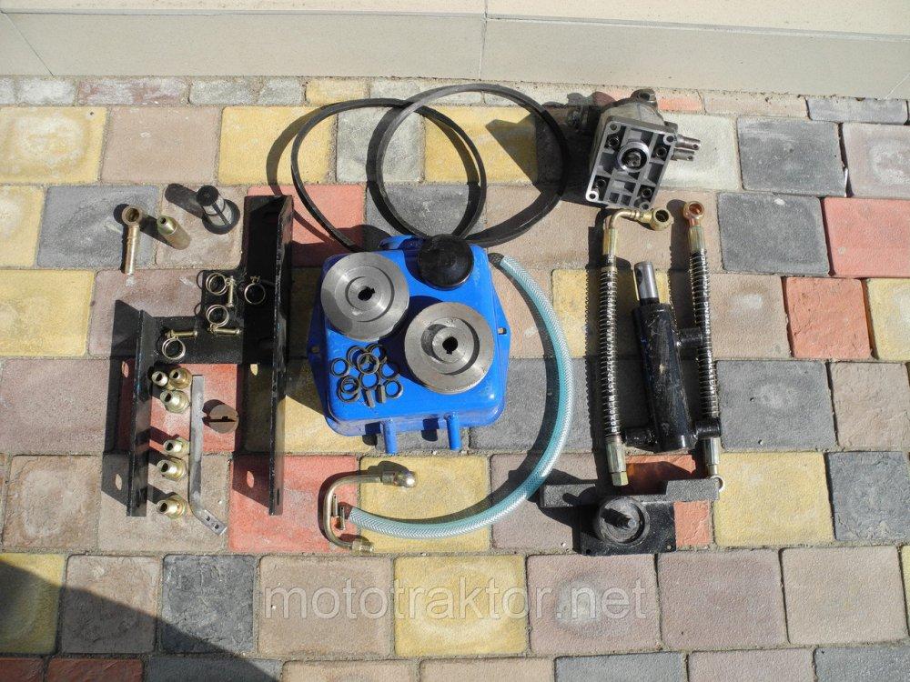 Купить Гидравлическая система навесного механизма для мототрактора(гидравлика)