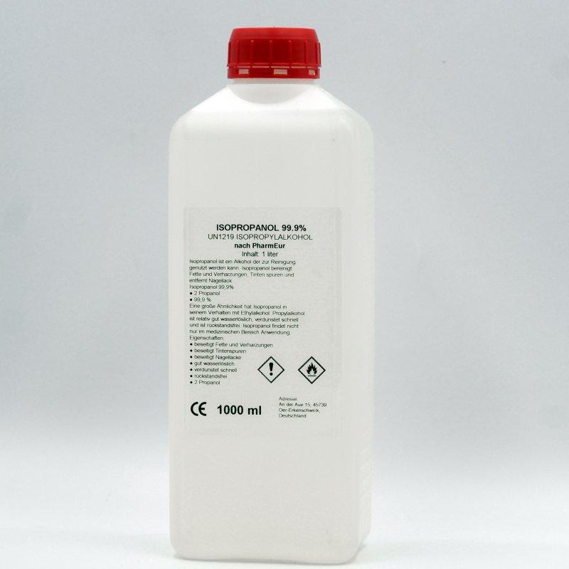 Изопропиловый спирт ХЧ (ИПС) 99.9% 1л