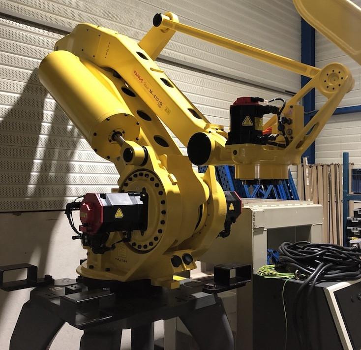 Купить Робот - паллетайзер FANUC M-410iB/160