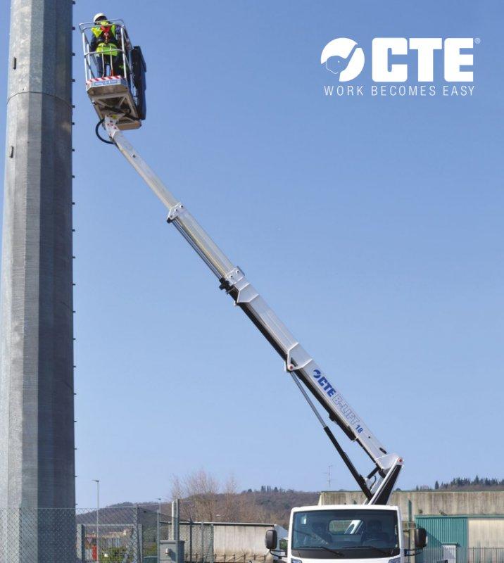Купить Мобильная рабочая платформа с телескопической стрелой CTE BLIFT 187 HY