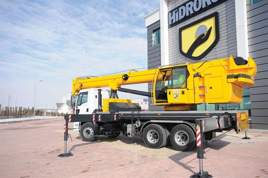 Купить Телескопический гидравлический автокран Hidrokon (Гидрокон) HK 60 22 T2