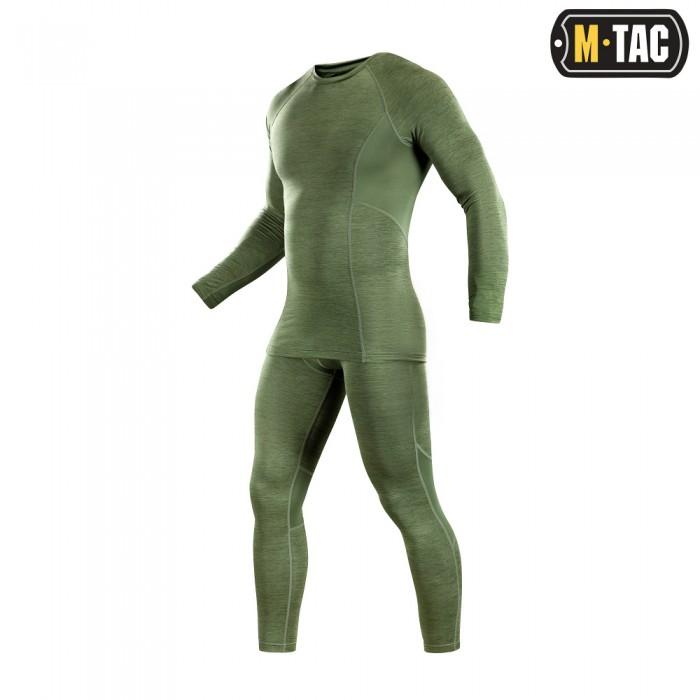 Купить M-Tac термобелье Active Level I Olive Melange