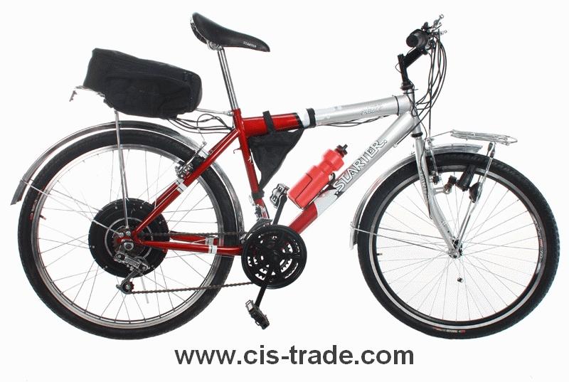 Купить Велосипеды ARDIS и Azimut с электро набором разных мощностей