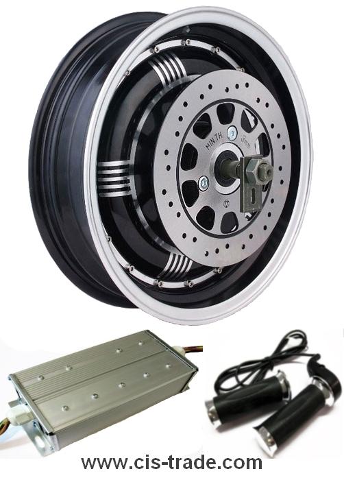 Купить Электро наборы и мотор колеса для велосипедов, скутеров и автомобилей.