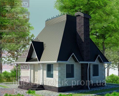 Купить Каркасный дом-американский проект Геркулес 120кв.м.