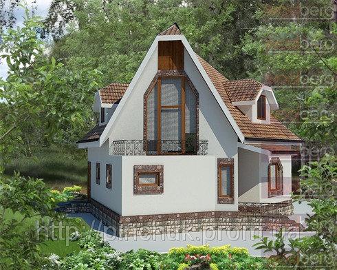 Купить Каркасный дом - американский проект Белоснежка 150 кв.м.