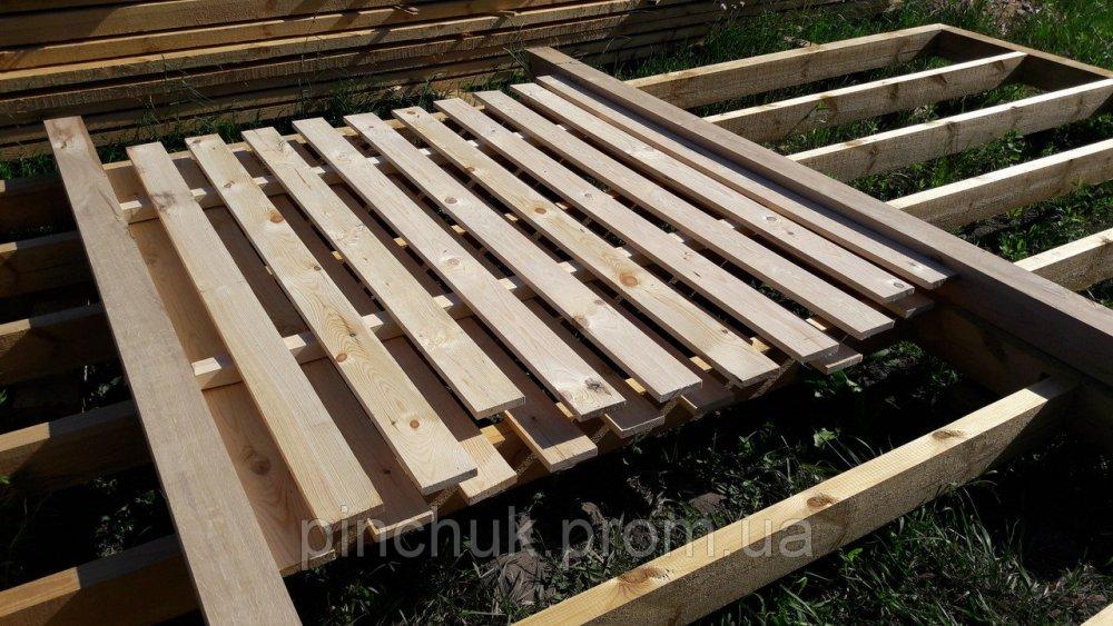 """Купить Набор для деревянного забора """"Вертикальниый"""" с дубовыми столбами."""