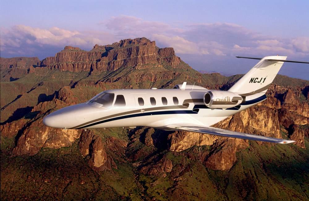Самолет  легкого класса Cessna CJ 1