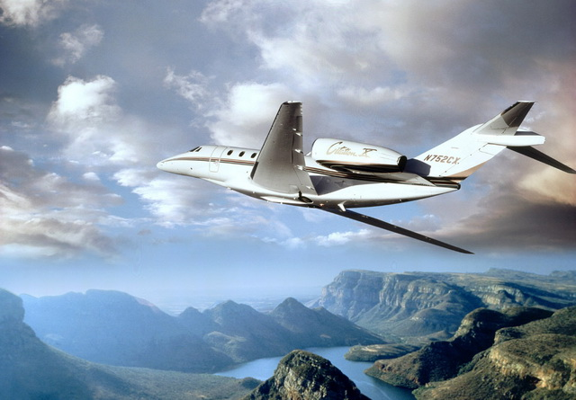 Аренда продажа самолета Cessna Citation X