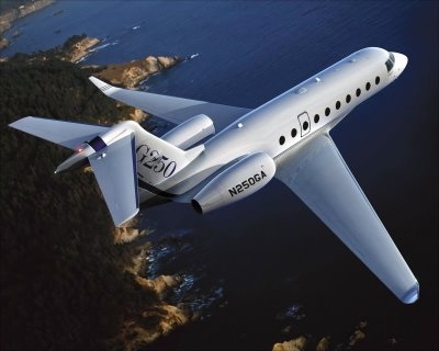 Аренда прокат продажа самолета Gulfstream 200
