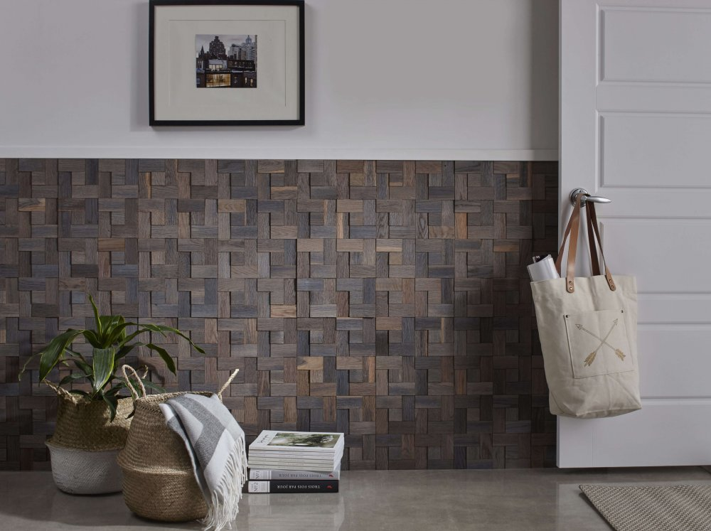 Купить Декор для стен из дерева Enfasi Дуб Ice