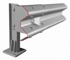 Ограждение дорожное металлическое барьерного типа, групп 11-ДО, 11-ДД, 11-МО.