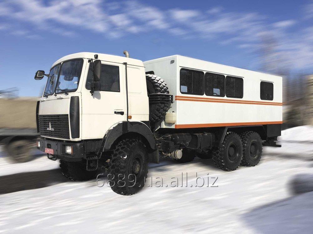 Купить Специализированный автомобиль ФПВ-46620 (вахтовый) на базе шасси МАЗ-6317F5