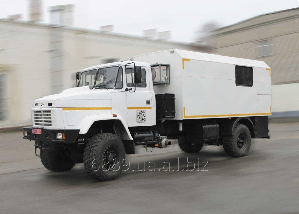 Купить Автофургон ФПВ-14224-М (вахтовый) на базе шасси КРАЗ-5233НЕ