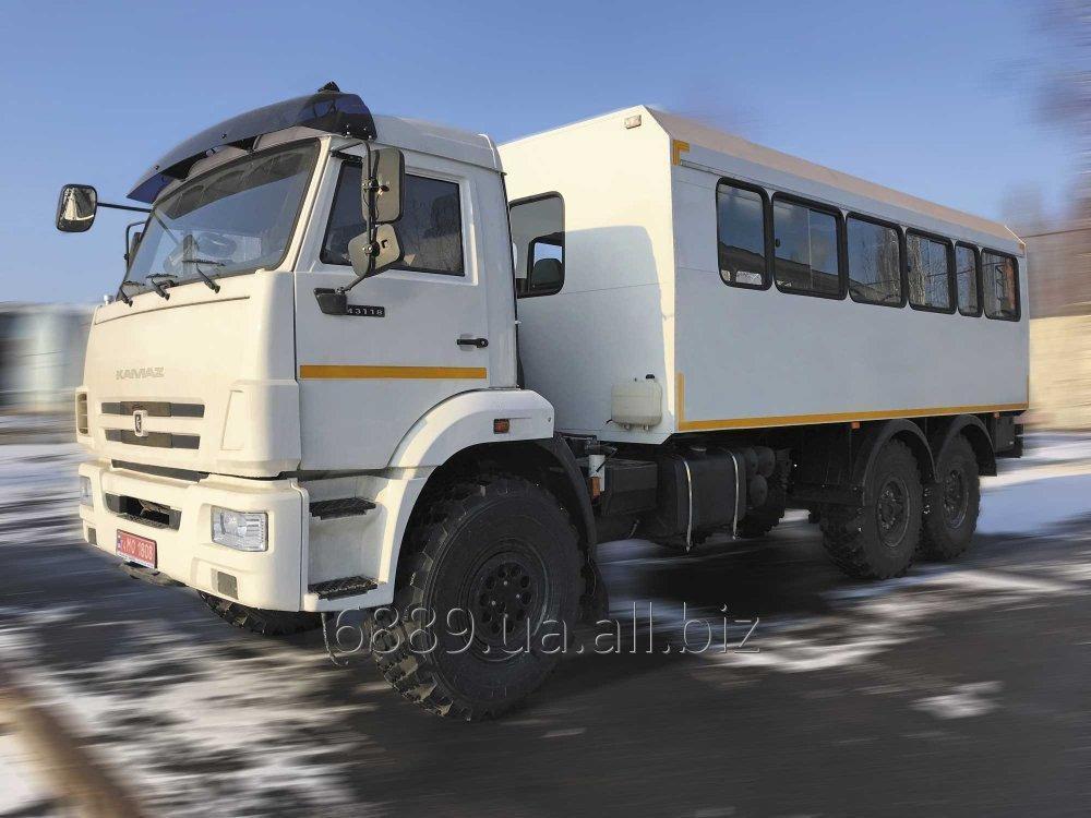 Купить Автофургон ФПВ-26629 (вахтовка) на базе шасси КАМАЗ-43118