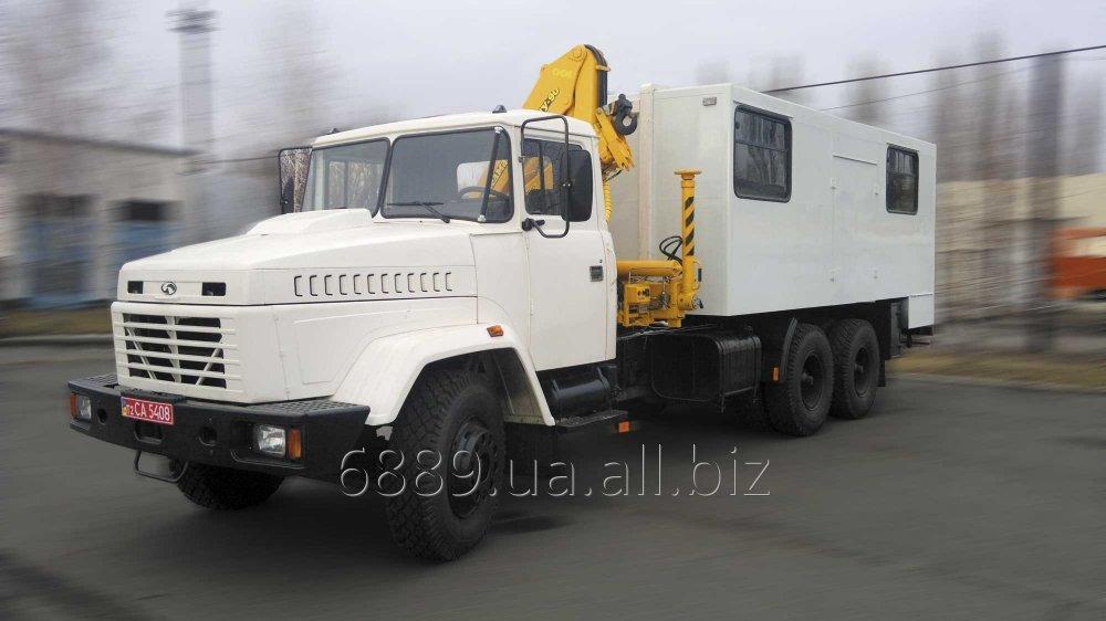 Купить Автомастерская с краном-манипулятором ФПВ-16406 на базе шасси КрАЗ-65053