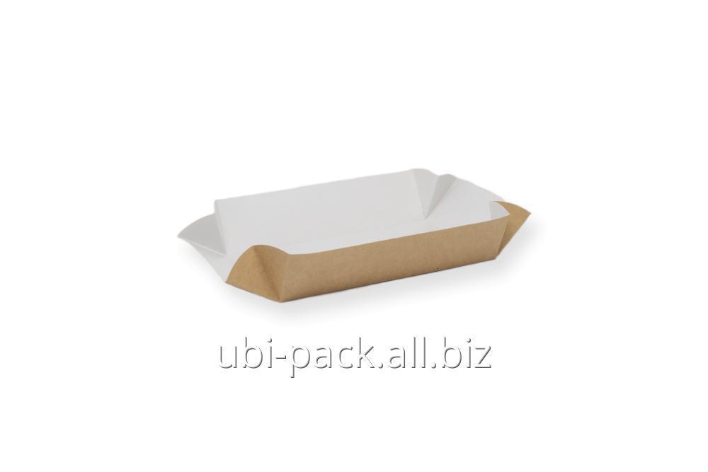 Купить Картонные тарелки мини( крафт-картон)