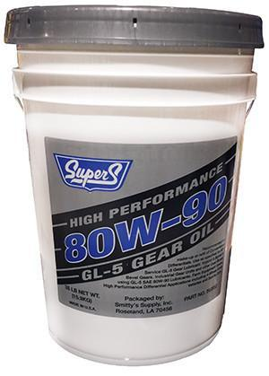 Масло трансмісійне та редукторне SUPER S 80W-90 GL-5 GEAR OIL 35 POUND