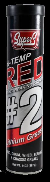 Купить Литиева смазка (литол) SUPER S HI-TEMP RED LITHIUM NLGI 2 GREASEN 50/14 OUNCE