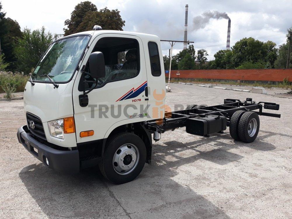 Автомобиль грузовик HYUNDAI HD 78 шасси