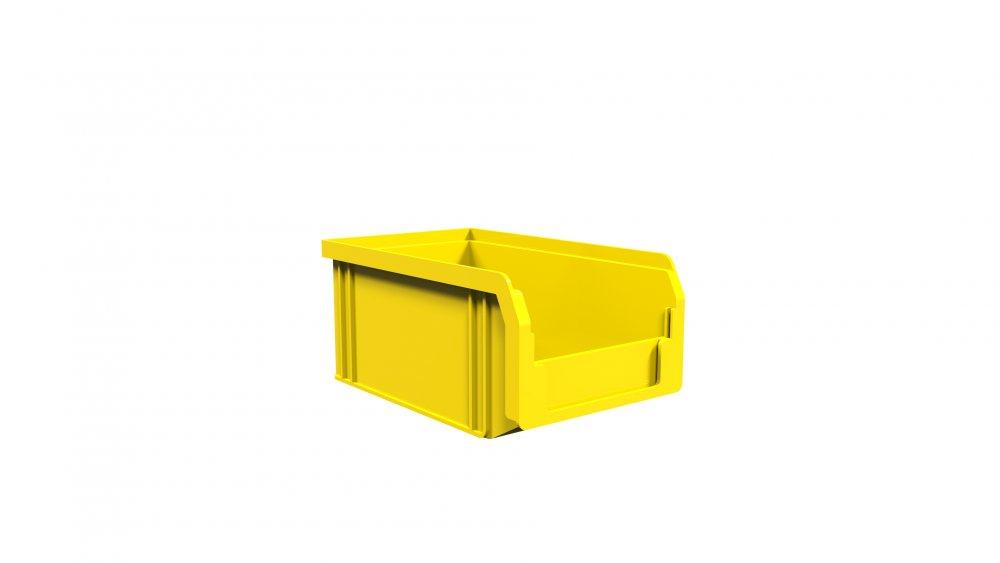 Купить Складской ящик из пластика для метизов 165х100х75мм (Яс-702)