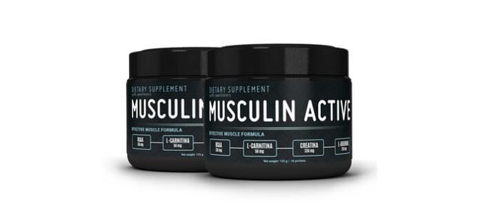 Купити Musculin Active (мускулінна Актив) - порошок для росту м'язів