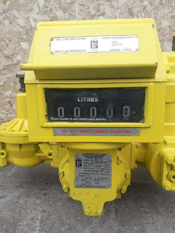 Расходомер, счетчик МА7 для СУГ, LPG, пропан бутана газовоза