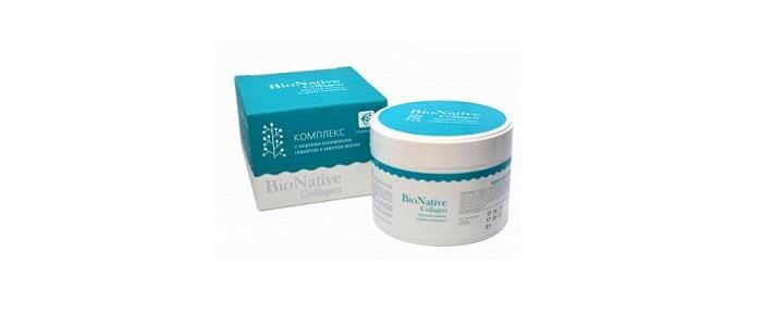 Acquistare BioNative collagene (collagene BioNeytiv) - delicata esfoliazione e collagene crema per il viso