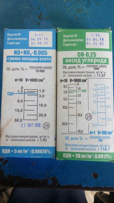 Купить Трубки индикаторные для газоопределитель химический ГХ-Е сумма оксидов азота