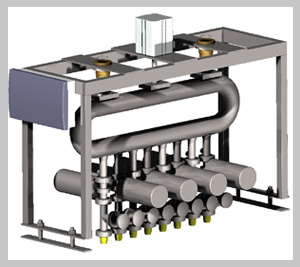 Купить Дозатор закрытого типа автоматизированный 8-позиционный