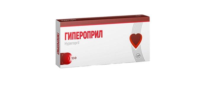 Гипероприл − капсулы от гипертонии
