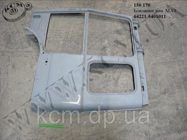 Боковина кабіни лів. 64221-5401011 МАЗ, арт. 64221-5401011