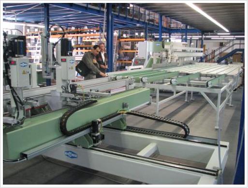 Купить Автоматическая сварочно-зачистная линия Haffner SMH-4 + SVW + SV-4 НОВАЯ
