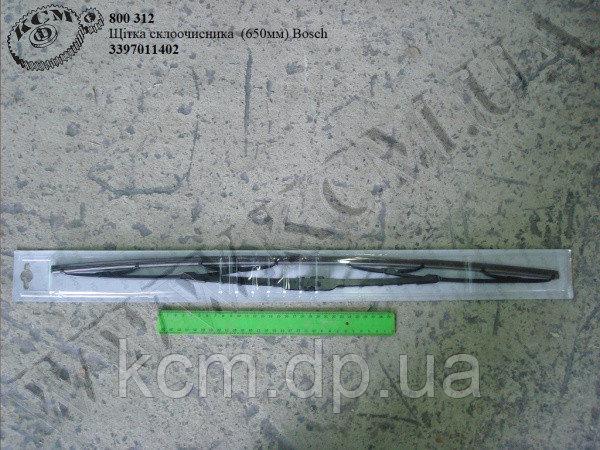 Щітка склоочисника 3397011402 (650мм) Bosch