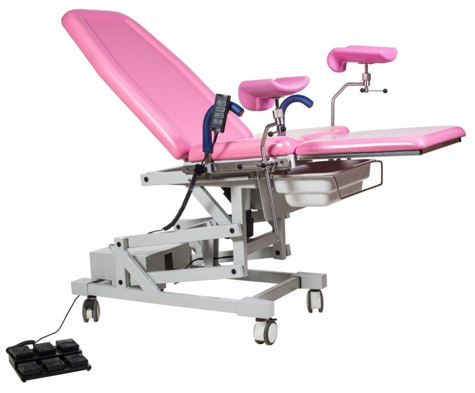 Универсальное гинекологическое кресло DST-V (электрическое, трансформируется в стол) Биомед