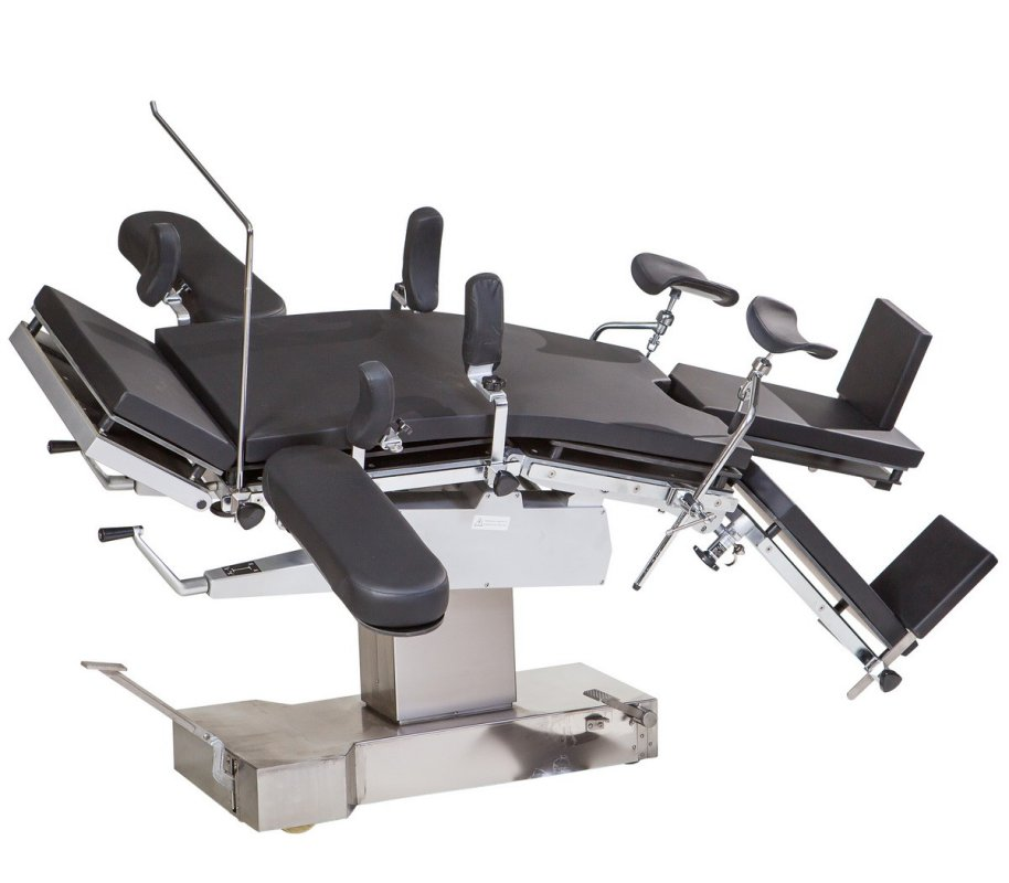 Стол операционный МТ300 (универсальный, механико-гидравлический, рентгенопрозрачный) Биомед