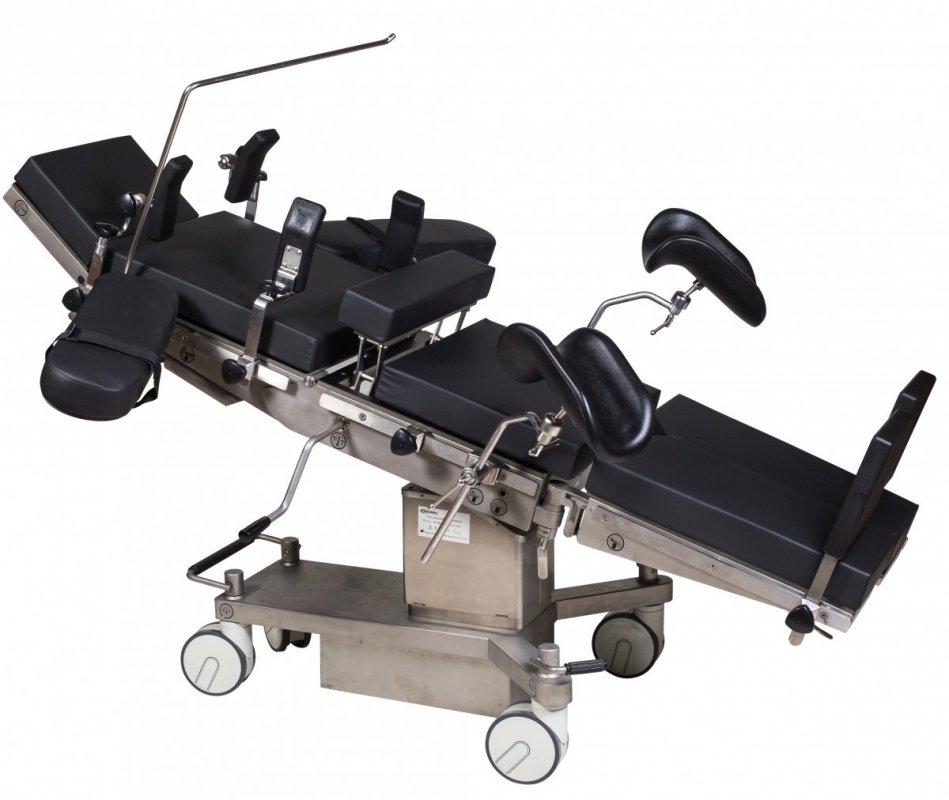 Стол операционный МТ600 (Механико-гидравлический, рентген-прозрачный) Биомед