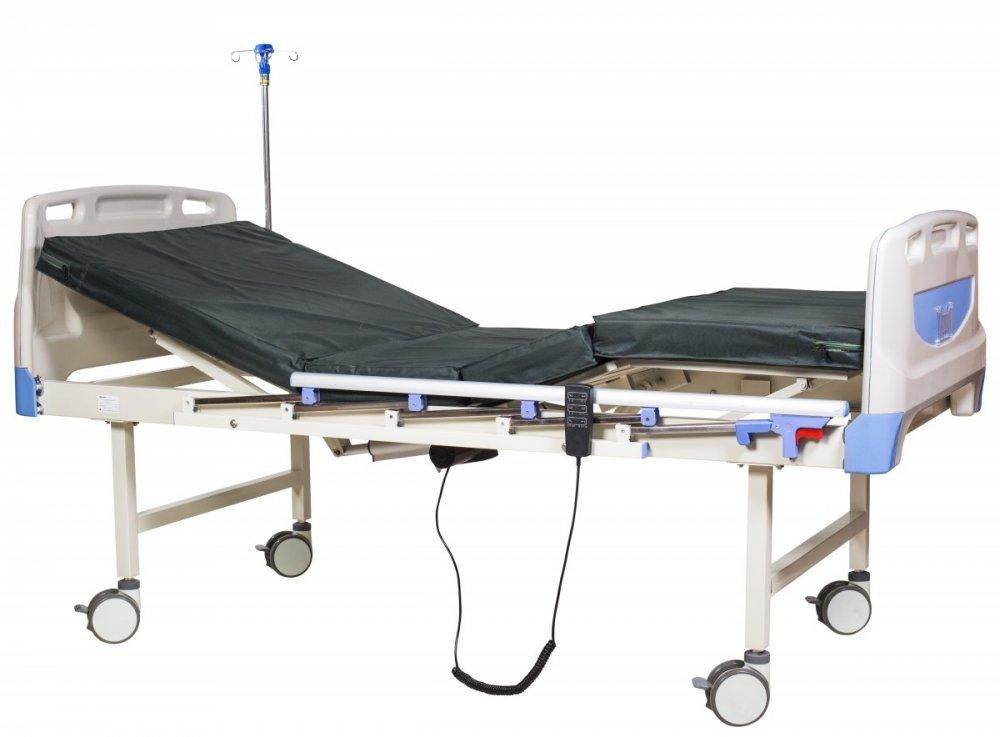 Купить Медицинская кровать, 2-секционная, механическая А-26 Биомед