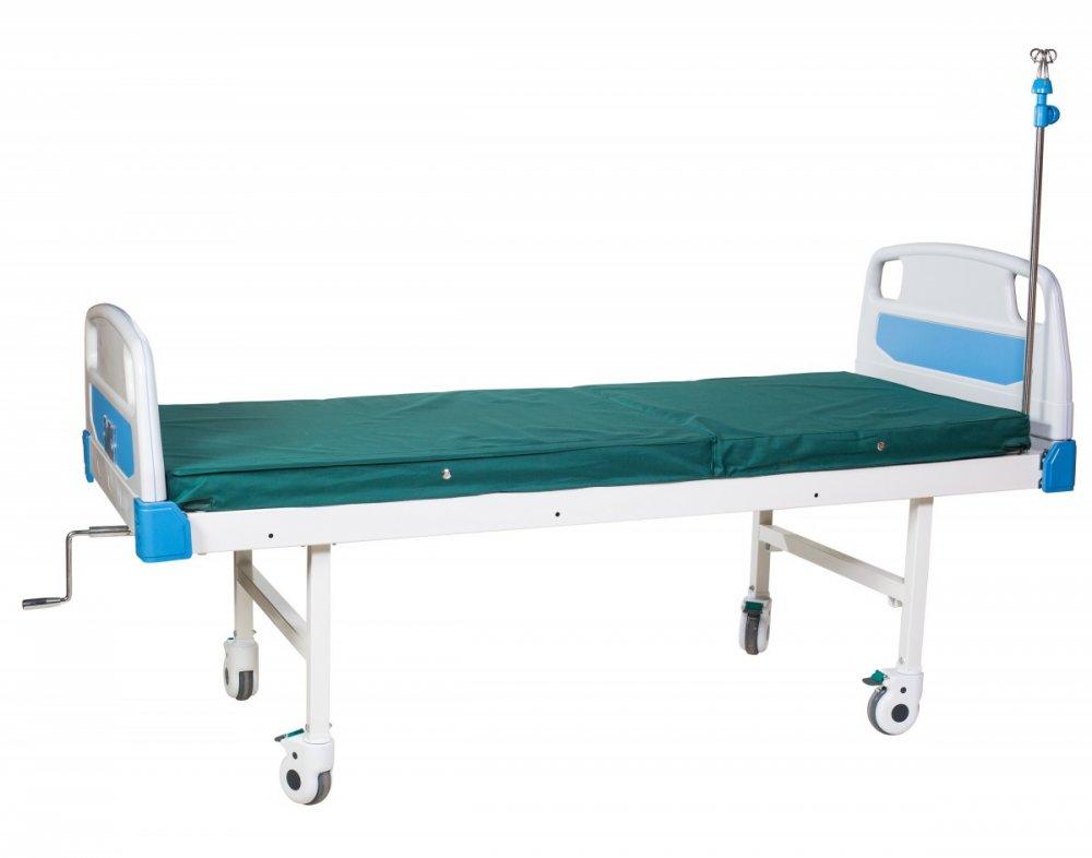 Кровать механическая четырехсекционная для лежачих больных HBM-2SM Биомед