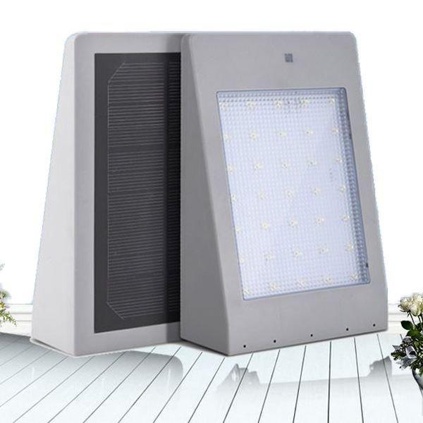 Купить Автономный уличный LED светильник (4 Вт) с солнечной панелью, датчиком движения, освещенности