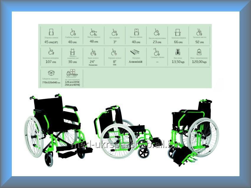 Купить Коляска инвалидная, регулируемая, без двигателя Golfi Golfi-7