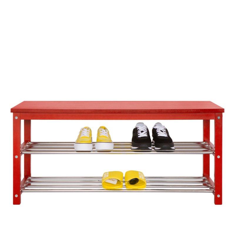 Банкетка Fenster NVD-04 Красная