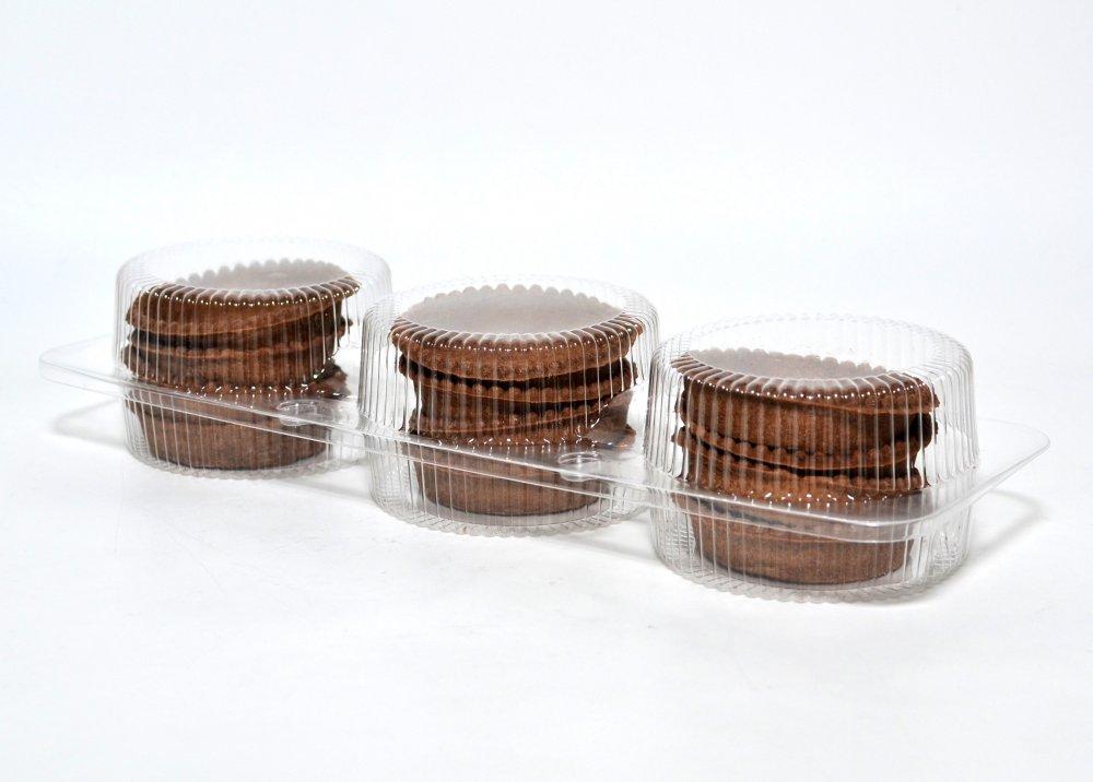 Tartelettes pâte avec du cacao pour les desserts 216g
