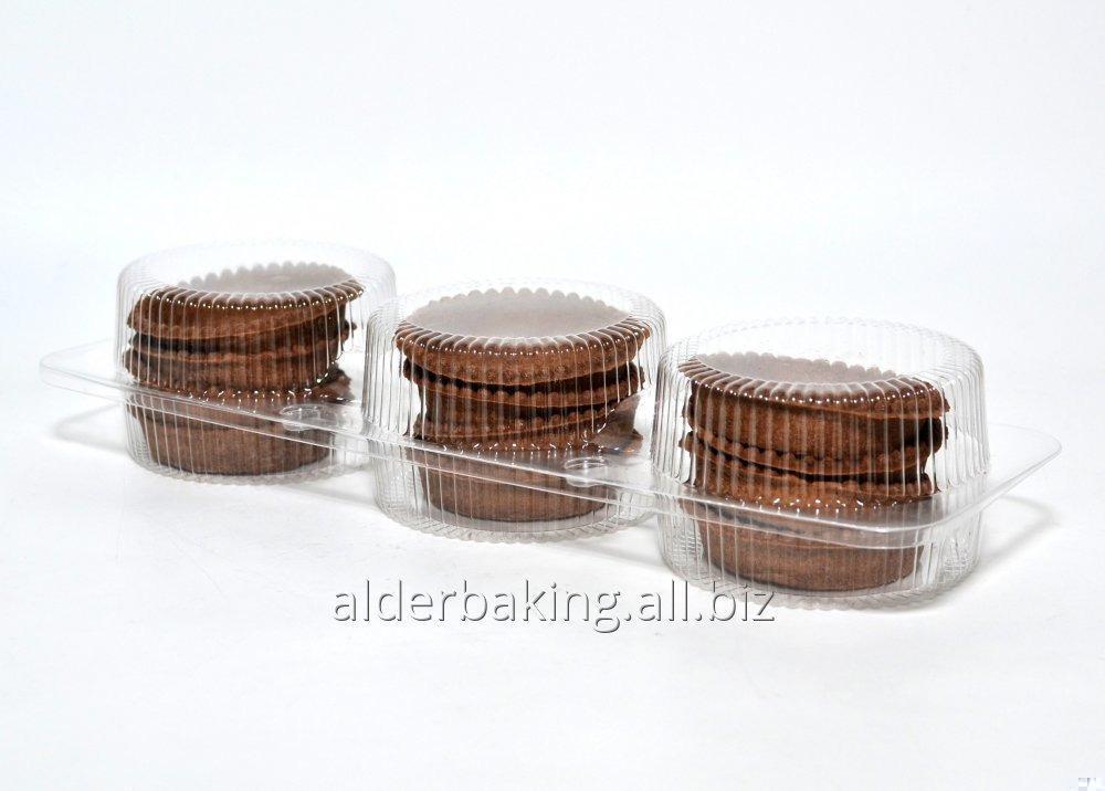 Купить Тарталетки из теста с какао для десертов 216г.
