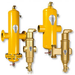 SpiroCombi - комбинированные сепараторы воздуха и шлака